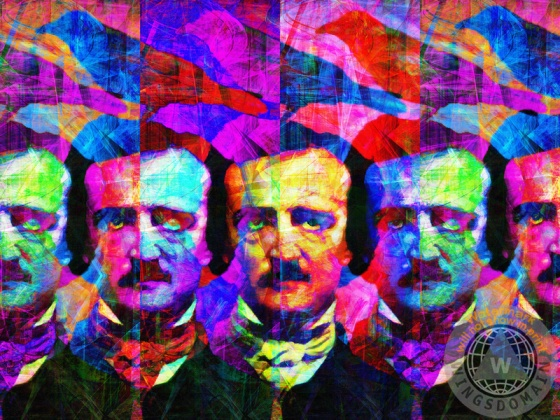 alan, allan, allen, andy warhol, author, authors, celebrities, celebrity, classic, crazy, crow, crows, dark, death, dream, dreams, edgar, edgar alan poe, edgar allan poe, edgar allen poe, face, faces, fantasy, fun, funny, ghost, goth, halloween, haunted, horror, humor, humorous, humour, kitsch, kitschy, morbid, mustache, nevermore, old, people, poe, poem, poems, poet, poetry, poets, pop, popart, portrait, portraits, quoth the raven nevermore, raven, ravens, scary, strange, surreal, surrealism, sweet lenore, vintage, wing tong, wingsdomain, writer, writers
