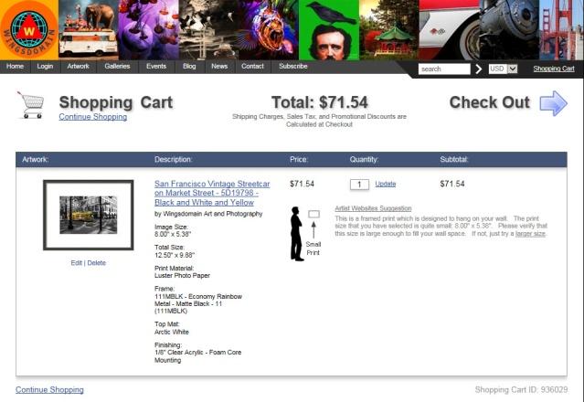 wingsdomain-artistwebsites-shopping-cart-screenshot