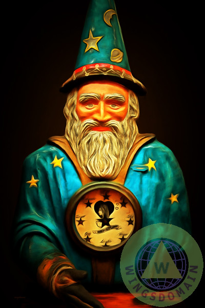 """Your Fortune Be Told By The Wizard Fortune Telling Machine 7D14"