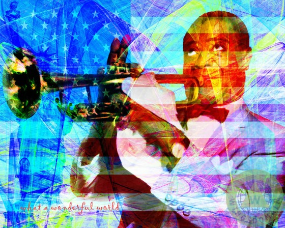 celebrity,celebrities,famous,people,famous people,person,face,faces,portrait,portraits,louis armstrong,louie armstrong,black american,african american,patriotic,singer,singers,music,musical,instrument,musician,musicians,trumpet,jazz,jazz singer,flag,flags,american flag,911,fourth of july,july 4th,4th of july,peace,color,colorful,old,vintage,classic,nostalgia,nostalgic,kitsch,kitschy,whimsical,cheer,cheerful,bright,interior,decoration,pop,pop art,andy warhol,text,word,words,wing tong,wingsdomain