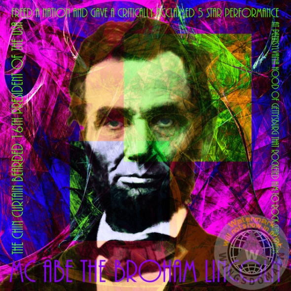 rock and roll,celebrity, celebrities, people, famous people, civil war, abe, abraham, lincoln, abraham lincoln, abe lincoln, president, presidents, cool, hip, hipster, trendy, trending, satire, fun, funny, kitsch, kitschy, pop, andy warhol, psychedelic, 60s, 1960s, peace, acid, hippy, hippies, whimsical, happy, rock star, rock and roll, hip hop, gettysburg address, black history, patriotic, american, america, us, usa, united states, united states of america, liberty, equality, free, freedom, and, or, the, history, historical, civil rights, wing tong, wingsdomain