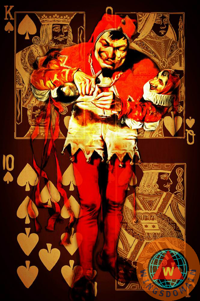 and, art, black jack, blackjack, bridge, buy, canvas print, card, card game, card games, cards, casino, casinos, circus, clown, clowns, court jester, deck, deck of card, deck of cards, doll, dolls, eclectic, fine art, flush, fool, fools, for sale, framed print, fun, gamble, gambles, gambling, game, games, greeting card, hobbies, hobby, home decor, jester, jesters, joker, jokers, kitsch, kitschy, las vegas, los vegas, metal print, of, past time, pastime, pasttime, photograph, photography, play, playing, playing card, playing cards, poker, pokers, pop, popart, poster, posters, print, prints, purchase, reno, royal, royal flush, royalty, sell, spade, the, vegas, wall art, wall decor, whimsical, wing chee tong, wing tong, wingsdomain