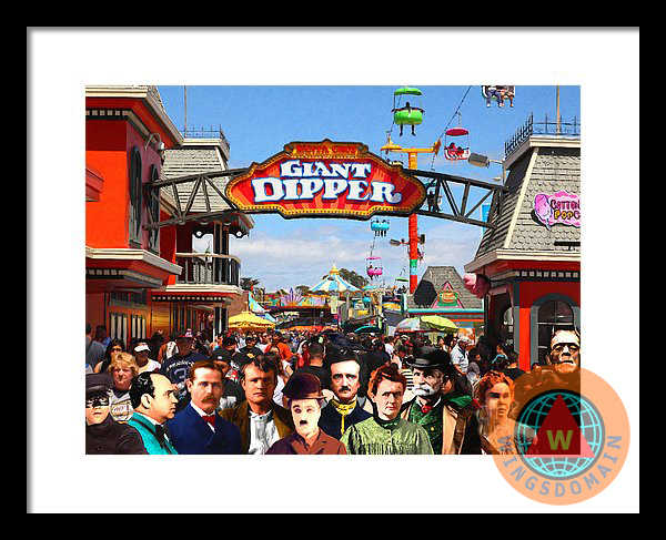 """""""wingsdomain art and photography"""", amusement, amusement park, art, b, b movies, b-movie, bach, black bart, bright, butch cassidy, buy, ca, california, canvas print, carnival, celebrities, celebrity, charlie chaplin, colorful, creative, crowd, crowds, edgar allan poe, fair, fairs, famous, famous people, fantasy, fine art, for sale, framed print, frankenstein, fun, greeting card, happy, hollywood, home decor, humor, humorous, lizzie borden, madame curie, metal print, moon, movie, movies, park, parks, people, photograph, portrait, portraits, poster, posters, print, prints, purchase, raven, ravens, roller coaster, roller coasters, santa cruz, sell, side show, sideshow, summer, surreal, surrealism, wall art, wall decor, whimsical, wing tong, wingsdomain"""
