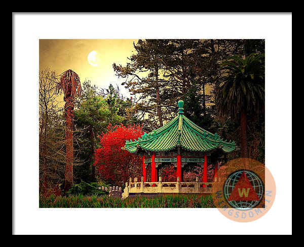 architecture, art, asian, asian architecture, asians, bay area, bayarea, buy, ca, california, canvas print, chinese, chinese architecture, chinese pagoda, chinese pavilion, contemporary, fine art, for sale, framed print, gold, gold light, golden, golden gate park, golden light, greeting card, home decor, lake, lakes, landscape, landscapes, metal print, moon, moons, pagoda, pagodas, park, pavilion, pavilions, photograph, photography, poster, posters, print, prints, purchase, romance, romantic, romaticism, san francisco, sell, sf, stow lake, wall art, wall decor, wing chee tong, wing tong, wings domain, wingsdomain