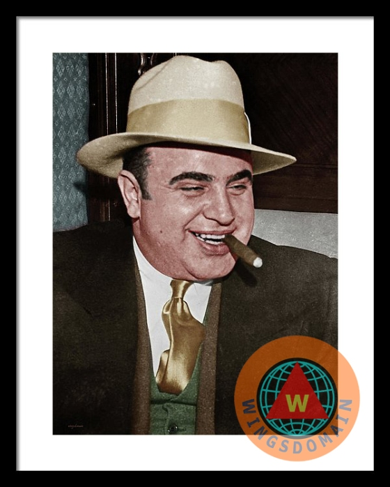 wingsdomain,colorized,celebrity,celebrities,al capone,capone,fbi,alcatraz,alcatraz island,san francisco,chicago,scarface,scar face,gang,gangs,gangster,gangsters,mob,mobs,mobster,mobsters,mafia,mug,mugs,mugshot,prison,crime,criminal,criminals,face,faces,people,portrait,portraits,prohibition,1920s,cigar,jail,jails,prison,prisons,cook county jail,terminal island,history,historic,james cagney,humphrey bogart,cell,cells,cell 85,tax,evasion,kitsch,kitschy,retro,classic,vintage,wing tong,wing chee tong,buy,purchase,sell,for sale,prints,poster,posters,framed print,canvas print,metal print, fine art,wall art,wall decor,home decor,greeting card,print,art,photograph,photography,fineartamerica,fine art america,society6,society 6,imagekind,redbubble,zazzle