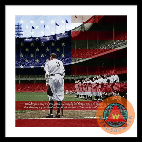 wingsdomain,new york yankees,yankees,boston,red sox,boston red sox,celebrity,babe,ruth,babe ruth,sultan of swat,bambino,baseball player,baseball players,baseball,sport,sports,mlb,major league,major league baseball,american pastime,american flag,americas,pastime,past time,ballpark,ball park,stadium,stadiums,coliseum,world series champions,people,face,faces,portrait,portraits,1920,1920s,nostalgia,nostalgic,old,vintage,classic,america,americana,and,the,square,size,sizes,word,text,words,wing tong,buy,purchase,sell,for sale,prints,poster,posters,framed print,canvas print,metal print, fine art,wall art,wall decor,home decor,greeting card,print,art,photograph,photography,fineartamerica,fine art america,society6,society 6,imagekind,redbubble,zazzle