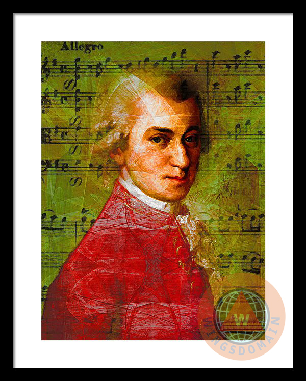 wingsdomain,celebrity,celebrities,wolfgang amadeus mozart,amadeus mozart,wolfgang,amadeus,mozart,symphony,symphonies,opera,music,classic music,classical music,musician,musicians,concert,concerts,serenade,serenades,allegro,overture,orchestra,orchestras,art,artist,artists,piano,violin,vienna,color,colorful,happy,cheerful,bright,surreal,surrealism,fun,funny,kitsch,kitschy,portrait,portraits,genius,boy,old,classic,people,face,faces,history,historical,relaxing,zen,powerful,wing tong,buy,purchase,sell,for sale,prints,poster,posters,framed print,canvas print,metal print, fine art,wall art,wall decor,home decor,greeting card,print,art,photograph,photography,fineartamerica,fine art america,society6,society 6,imagekind,redbubble,zazzle